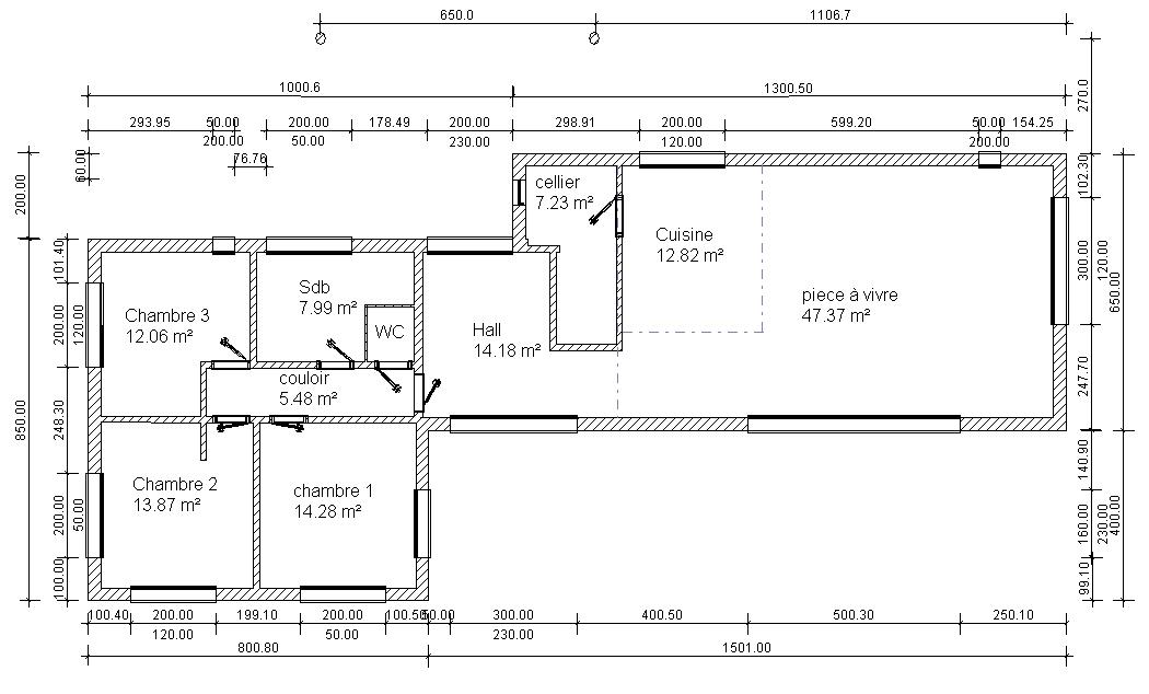 Marianne22 les plans - Epaisseur dalle maison ...